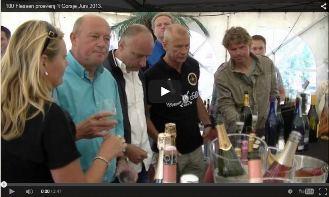 100 Flessen proeverij ´t Gorsje Juni 2013 Wijnblad