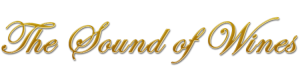Logo the Sound of Wines goud